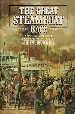 The Great Steamboat Race John Brunner-small