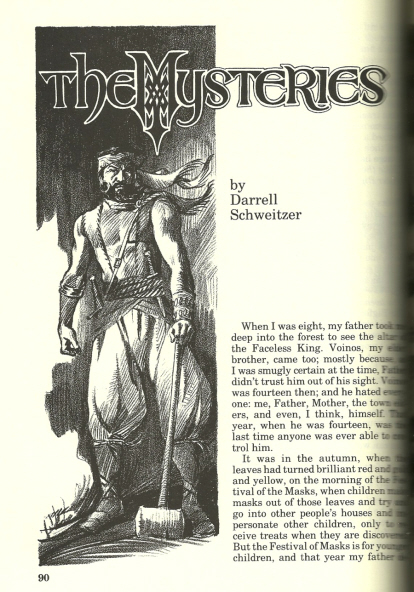 Weird Tales 290 The Mysteries of the Faceless King-small