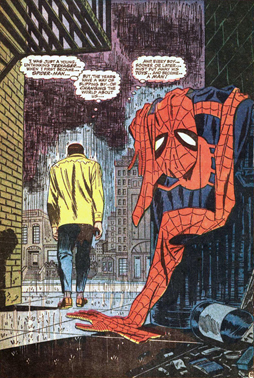 Amazing Spider-Man 50 panel