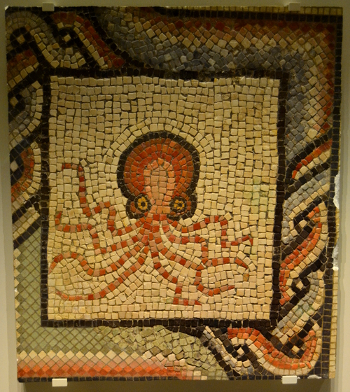 """I'd like to be, under the sea. . ."" Second or third century AD from Villaquejida (in modern León)"