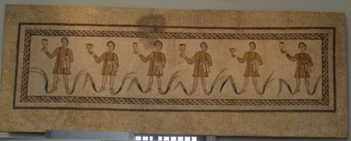 Roman frat party, 4th century, Alcalá de Henares, Madrid.