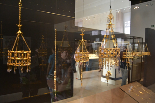 Several crowns from the Guarrazar Hoard.