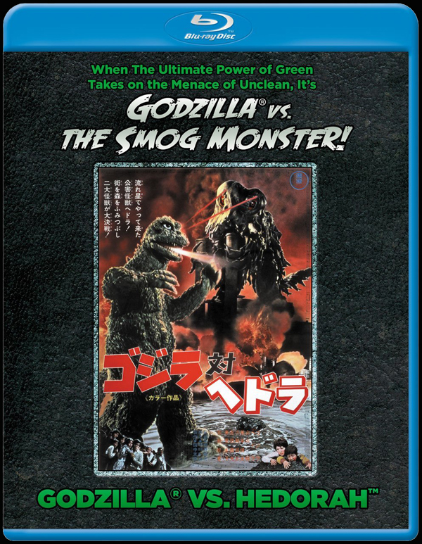 Godzilla vs. Hedorah blu-ray cover