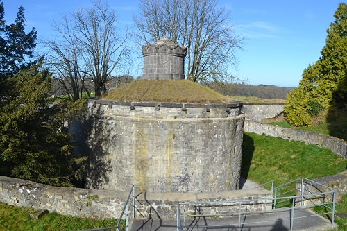A strongpoint of the citadel, rather outdated by 1914.