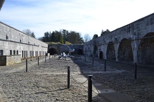 The citadel courtyard.