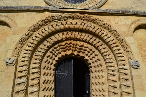 The west entrance, one of the best examples of a High Romanesque church door anywhere.