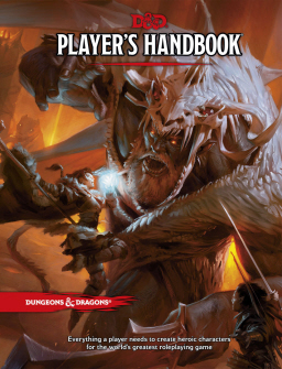 Dungeons and Dragons Player's Handbook Fifth Edition-small