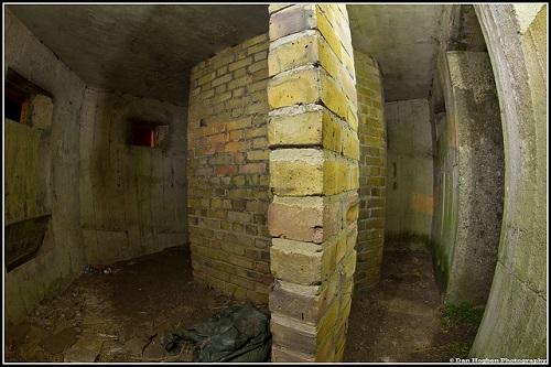 Pillbox interior captured with a fish-eye lens. Photo courtesy user Disco Dan via flickr.