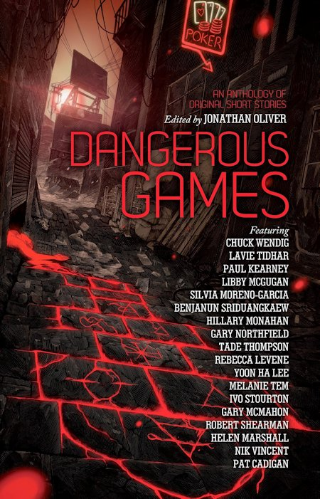 Dangerous Games Jonathan Oliver