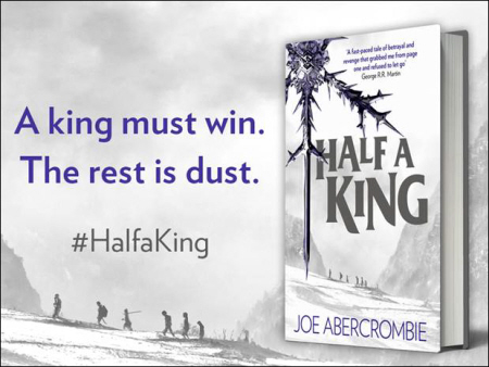 Half a King Joe Abercrombie UK ad-small