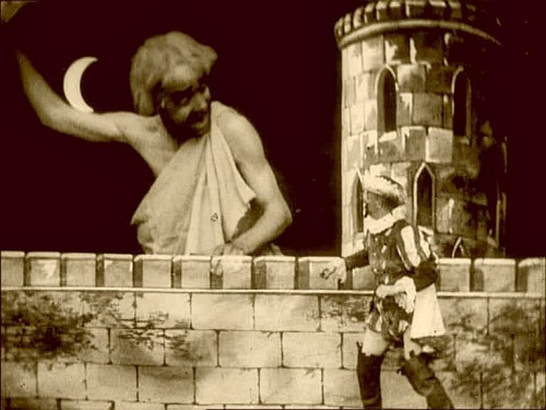 A fearsome foe in The Magic Sword (1901)