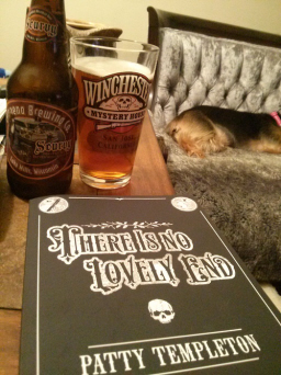 Patty Templeton There is no Lovely End beer-small