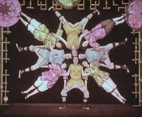 Japanese Acrobats, 1907.