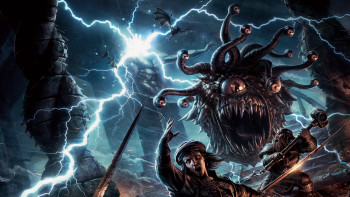 Here come 5E beholders so watch the **** out!