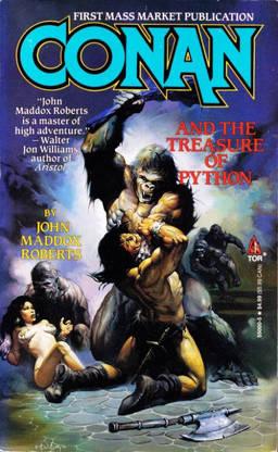 Conan and the Treasure of Python-small