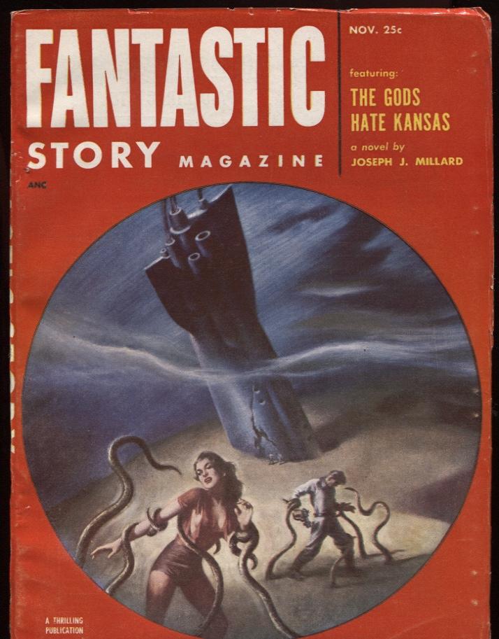 Fantastic Story Magazine 1950 Pulp Comic Books: Black Gate » Articles » Vintage Treasures: The Gods Hate
