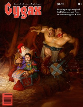 Who better to cover Gygax #1 than Daniel Horne?
