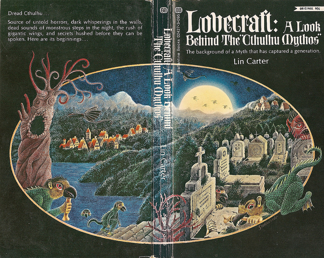 H.P. Lovecraft A Look Behind the Cthulhu Mythos