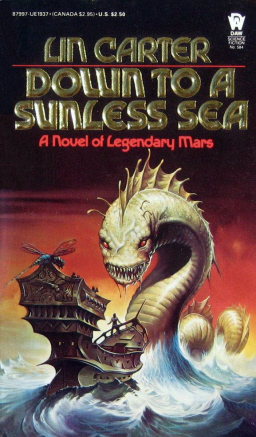 Lin Carter Down to a Sunless Sea-small