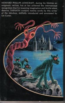 Lovecraft Sarnath back