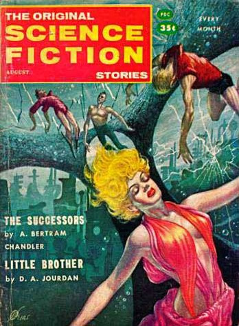 The Original Science Fiction Stories August 1958