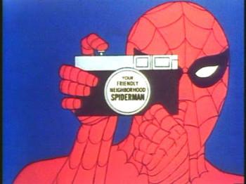 Your friendly neighbourhood Spider-man