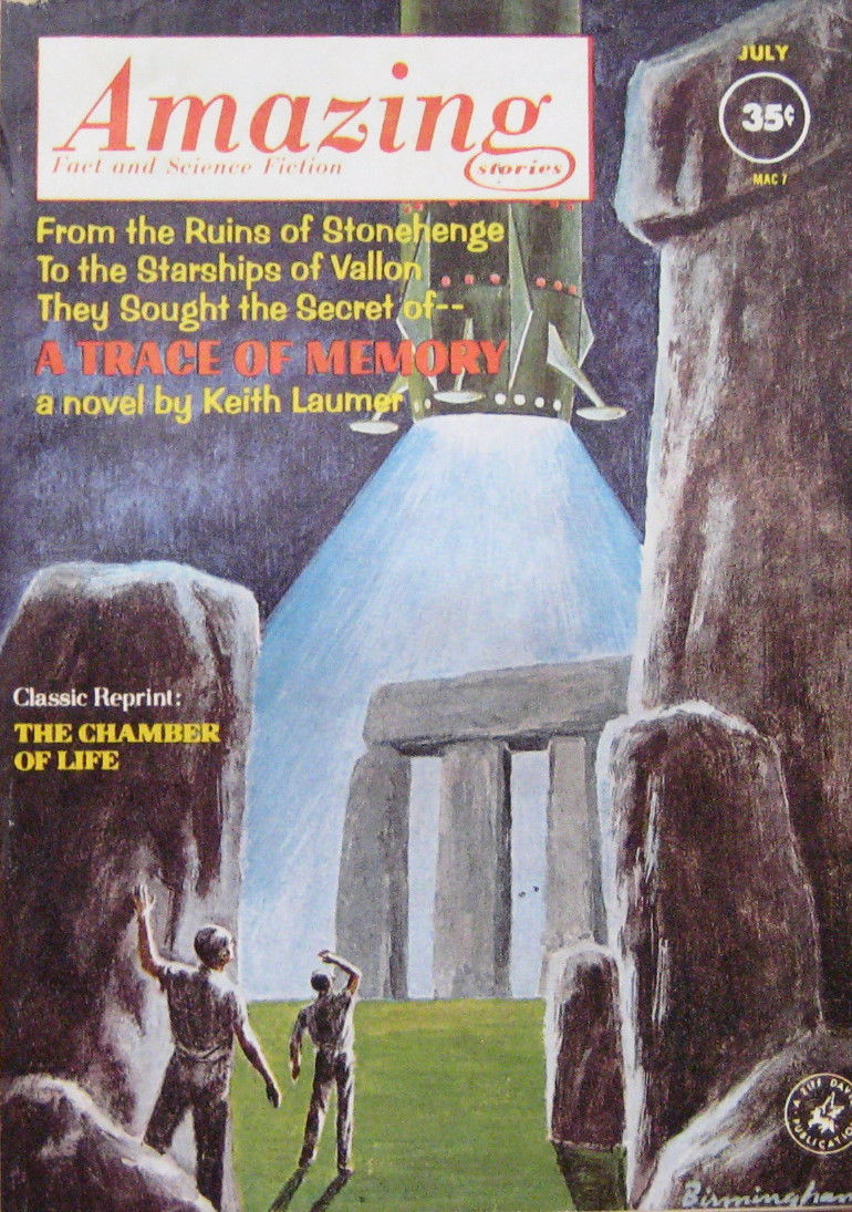 Amazing Stories Volume 21 Number 06: Black Gate » Articles » Amazing Stories, July 1962: A
