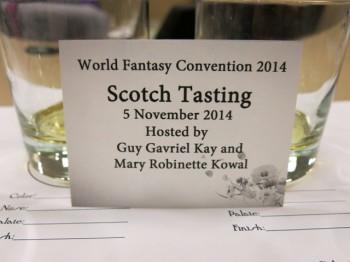 Scotch Tasting Card