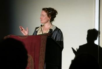 Toastmaster Mary Robinette Kowal