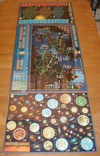 Imperium 3rd Millennium map