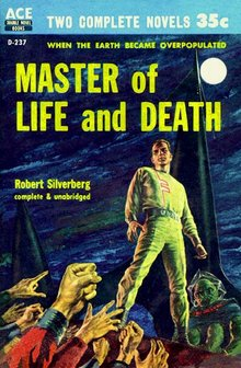 Robert Silverberg Master of Life and Death-small