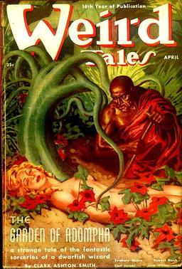 "Weird Tales, April 1938, containing  ""The King and the Knave"" by Carl Jacobi"