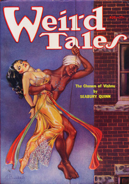 "Weird Tales, August 1933, containing""A Pair of Swords"" by Carl Jacobi"