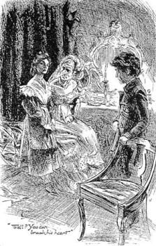 Estella, Miss Havisham, Pip.