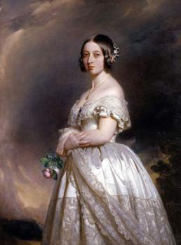 Young Queen Victoria.