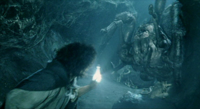 Frodo in Shelob's Lair-small