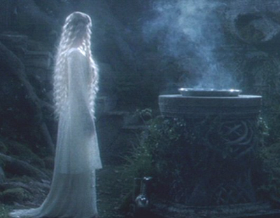Galadriel and the mirror-small