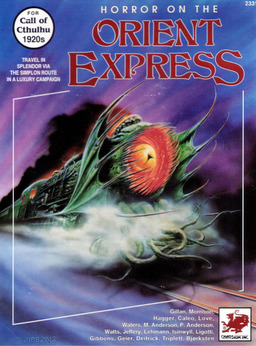Horror on the Orient Express Handouts