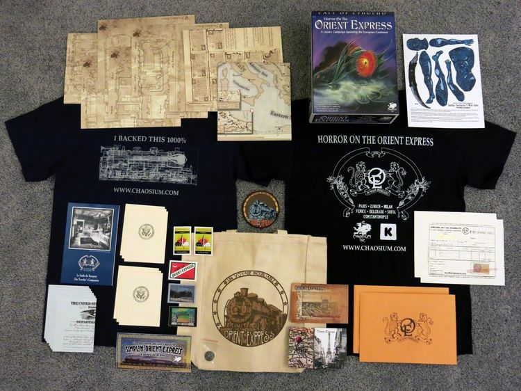 Horror on the Orient Express Kickstarter extras-small