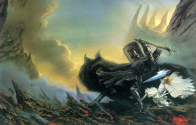Morgoth vs Fingolfin