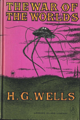 Edward Gorey's cover for The War of the Worlds
