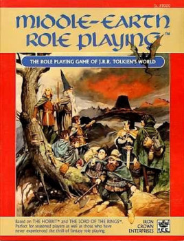 Games MERP ICE Middle Earth RP 8100