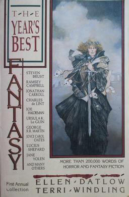 The Year's Best Fantasy First Annual Collection-small