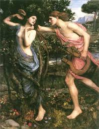 Waterhouse's Apollo and Daphne