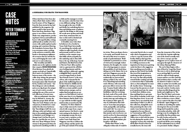 Book Reviews by Peter Tennant