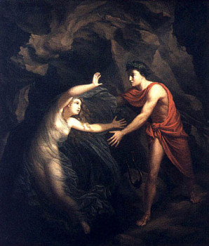 Kratzenstein's Orpheus and Eurydice