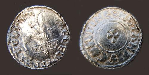 Lamb of God coin. Copyright British Museum.