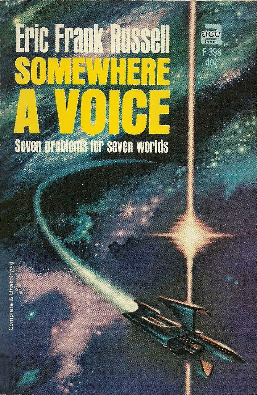 Vintage Treasures: Somewhere a Voice by Eric Frank Russell
