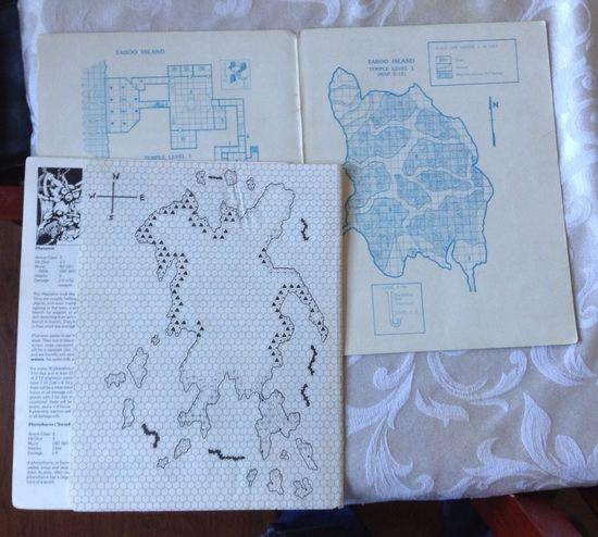 The Isle of Dread maps-small