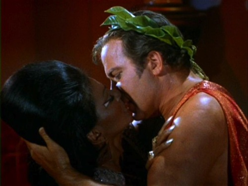 """""""Eeeeeew, they're smooching!"""" """"Quiet, this is historically significant."""""""